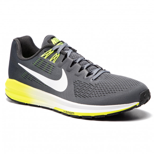 Schuhe NIKE Air Zoom Structure 21 904695 007 Cool Grey WhiteAnthracite