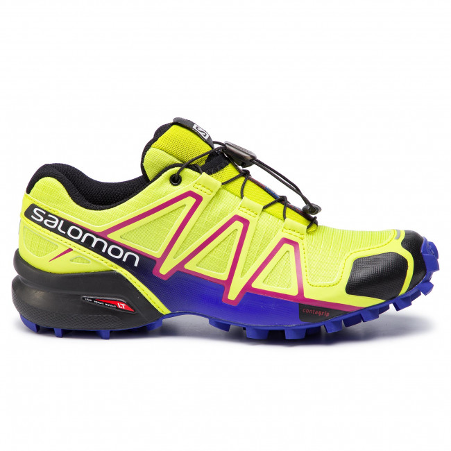 Schuhe SALOMON Speedcross 4 W 391859 21 V0 Gecko GreenSpectrum BlueBlack