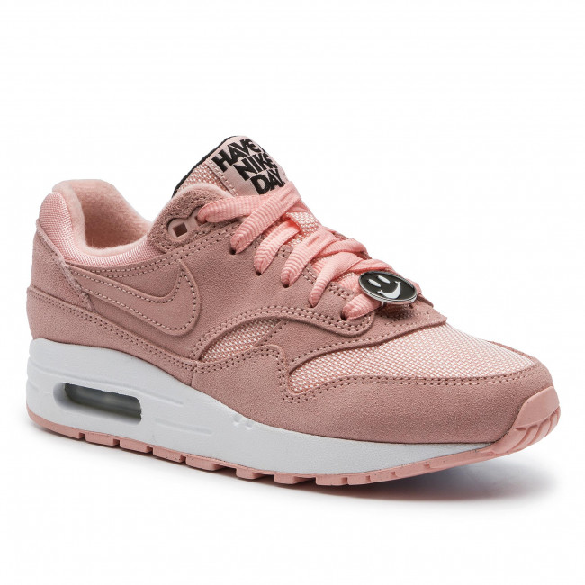 Schuhe NIKE Air Max 1 Nk Day (Gs) AT8131 600 Bleached CoralBleached Coral