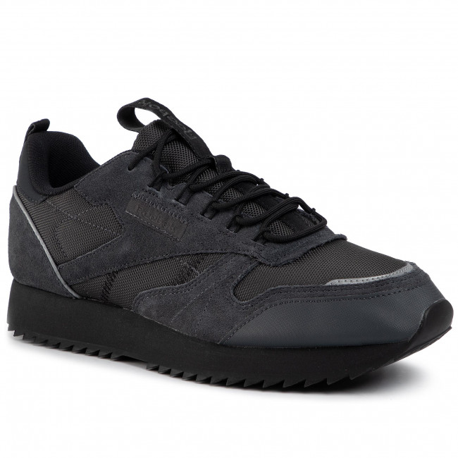 Schuhe Reebok Cl Leather Ripple Trail EG8708 Trgry8BlackPantom