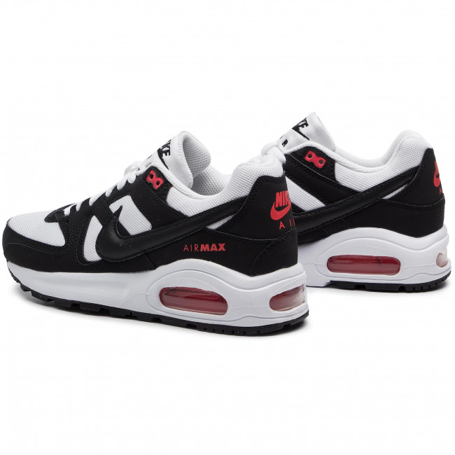 Schuhe NIKE Air Max Command Flex (GS) 844346 100 WhiteBlackMax Orange