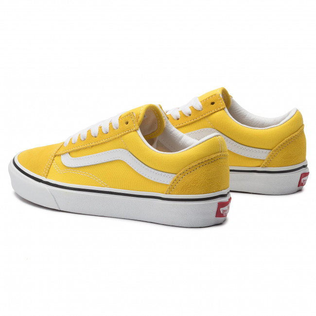 Vans Old Skool Shoes (vibrant yellow true white)