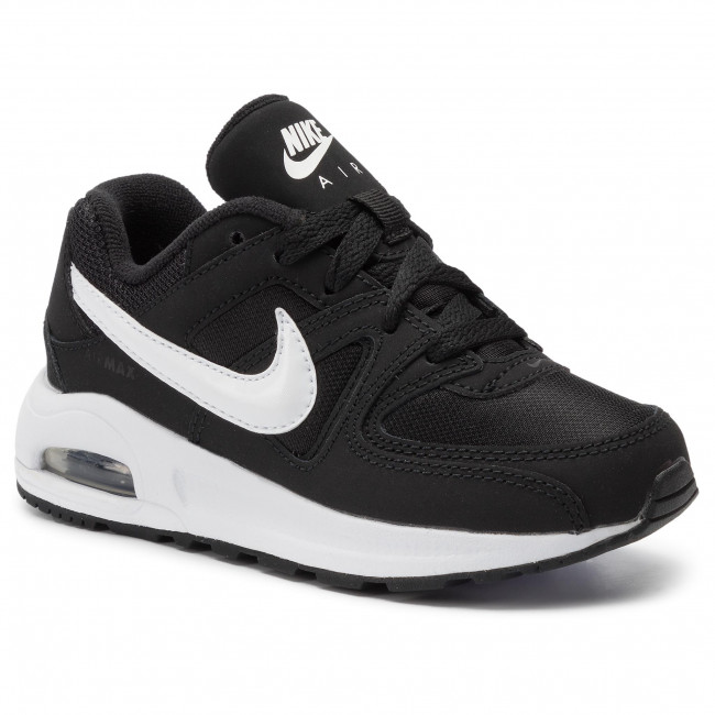 Schuhe NIKE Air Max Command Flex (PS) 844347 011 BlackWhiteWhite