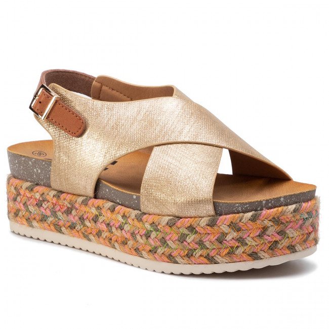 Espadrilles REFRESH - 69790 Gold