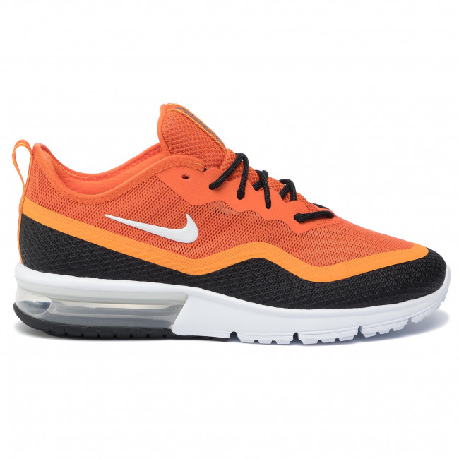 Schuhe NIKE Air Max Sequent 4.5 BQ8822 800 StarfishWhiteBlackKumquat