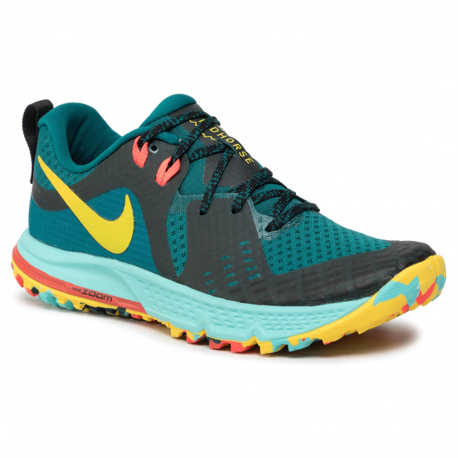 best prices uk availability lace up in Schuhe NIKE - Air Zoom Wildhorse 5 AQ2223 301 Geode Teal/Chrome Yellow/Black