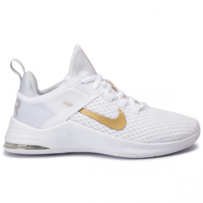 Schuhe NIKE Air Max Bella Tr 2 AQ7492 101 WhiteMetallic Gold