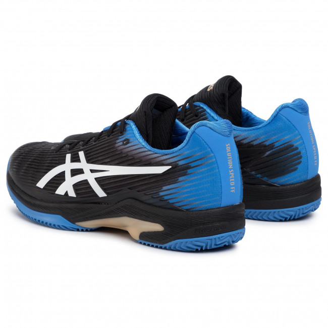 Schuhe ASICS Solution Speed Ff Clay 1041A004 BlackBlue Cost 012