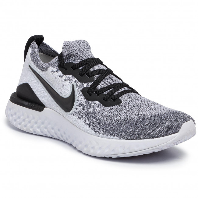Nike Epic React Flyknit Laufschuh Neutral Pure Platinum