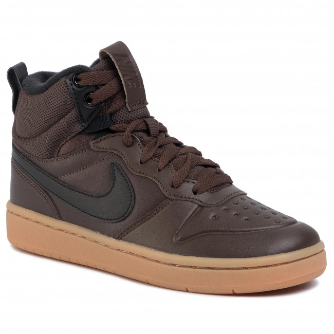 Schuhe NIKE Court Borough Mid 2 Boot (GS) BQ5440 200 Baroque BrownBlack