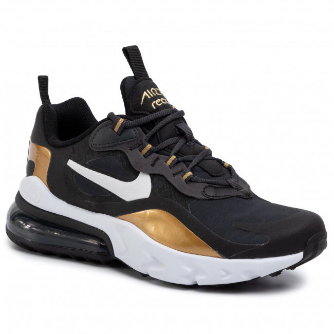 Schuhe NIKE Air Max 270 React (GS) BQ0103 005 AnthraciteWhiteBlack
