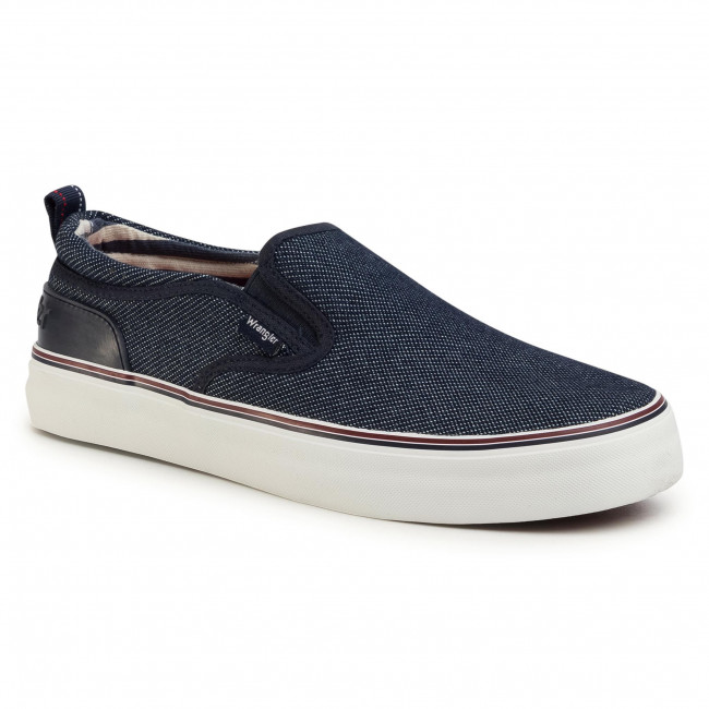 Turnschuhe WRANGLER - Epic Slip On WM01022A  Blue Japan 559