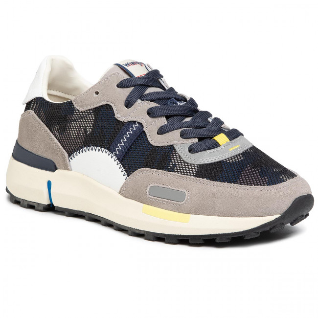 Sneakers WRANGLER - Iconic 70 Ns WM01121A Camouflage 099