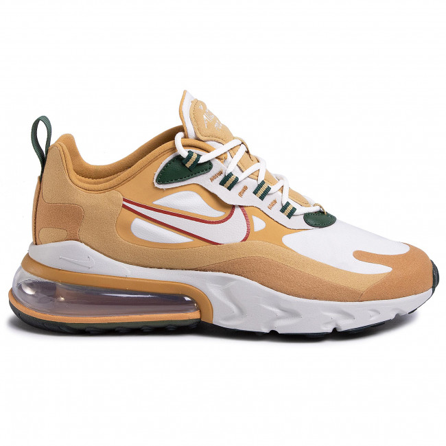 Schuhe NIKE Air Max 270 React AO4971 700 Club GoldLight BoneFlt Gold