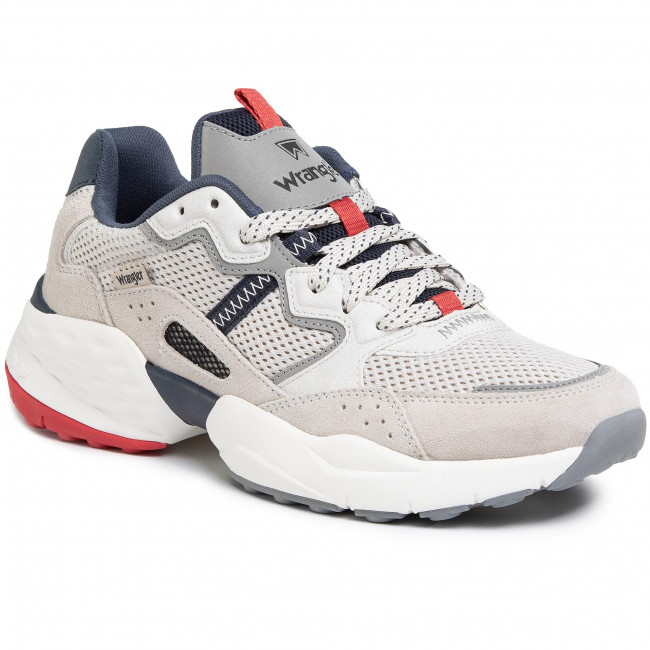 Sneakers WRANGLER - Iconic 90 Sm WM01101A White/Navy/Red 652