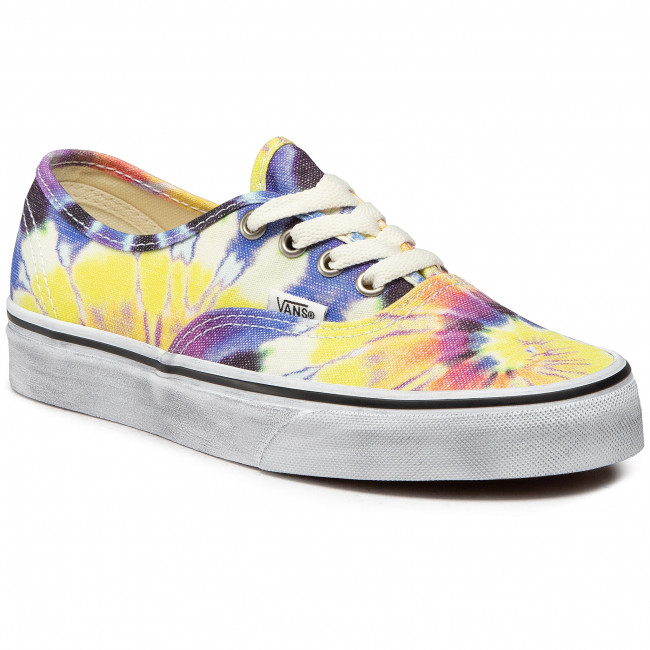 Turnschuhe VANS - Authentic VN0A2Z5I19X1 (Washed) Tie Dye/True Wht