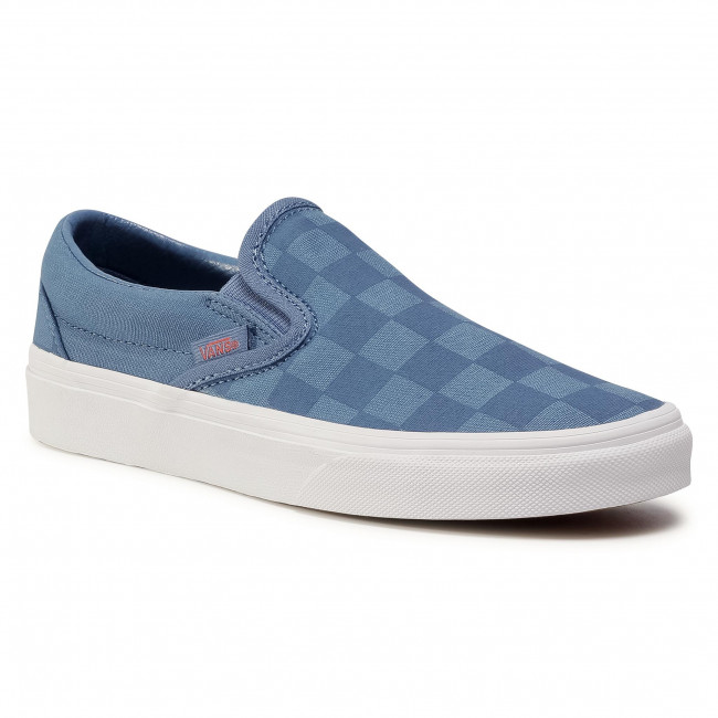 Turnschuhe VANS - Classic Slip-On VN0A4BV31IS1  (Tonal Check) Crntblpaprka