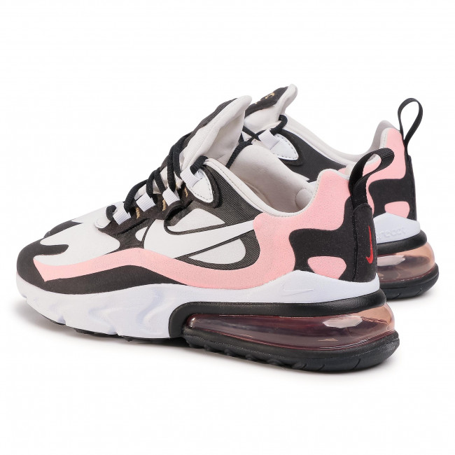 Schuhe NIKE Air Max 270 React AT6174 005 BlackWhiteBleached Coral