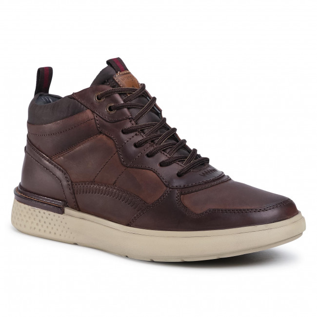 Sneakers WRANGLER - Discovery Mid WM02032A  Dk. Brown 030