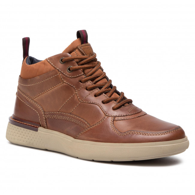 Sneakers WRANGLER -  Discovery Mid WM02032A Cognac 064