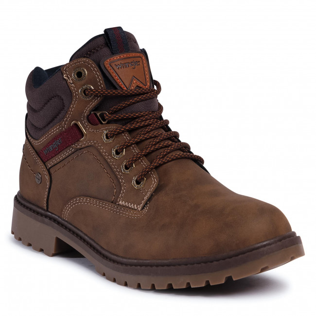 Trapperschuhe WRANGLER - Yukon WM02160A Brown 028