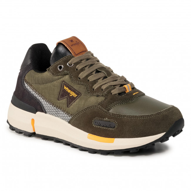 Sneakers WRANGLER - Iconic 70 WM02080A  Military/Dk.Brown/Ochre 732