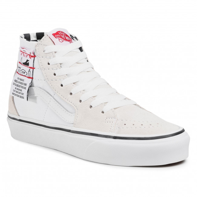 Sneakers VANS - Sk8-Hi Tapered VN0A4U1624F1  (Diy) White/True White