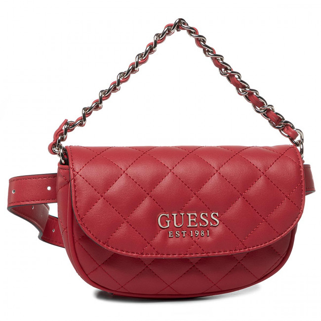 Nierentasche GUESS Melise (VG) Mini HWVG76 67800 RED