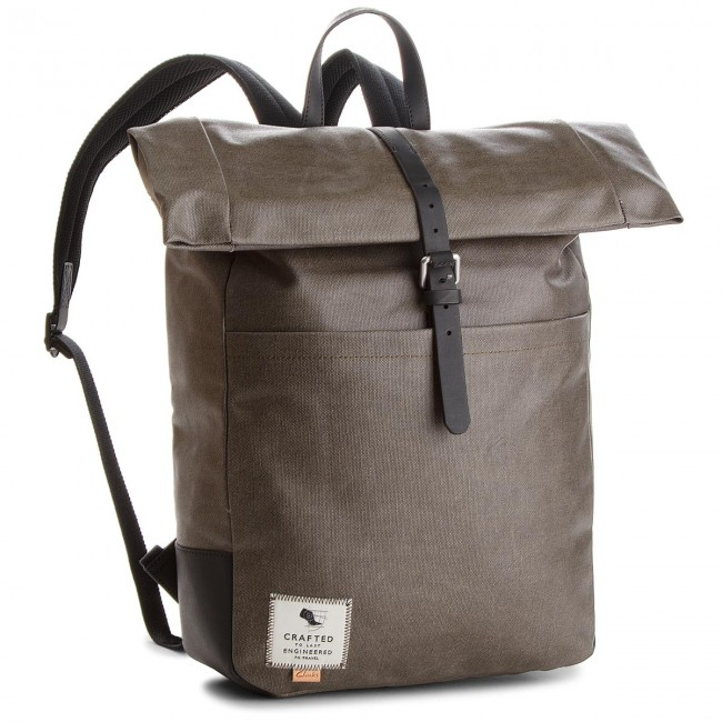 buying cheap best service various colors Rucksack CLARKS - The Millbank 261340700 Khaki Canvas