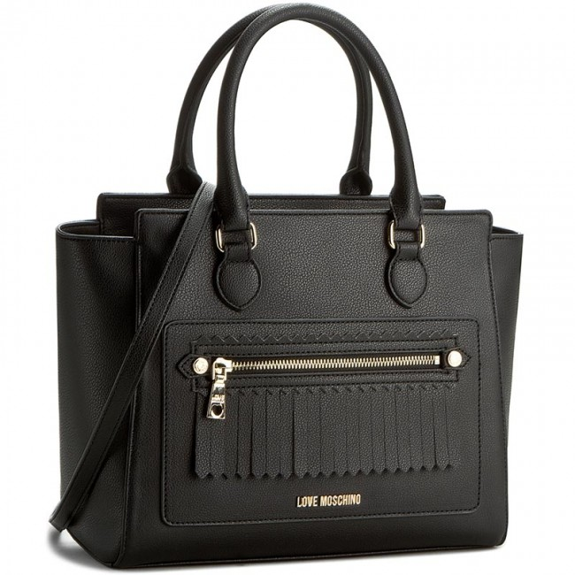 tasche love moschino jc4072pp13lj000 nero klassisch handtaschen. Black Bedroom Furniture Sets. Home Design Ideas