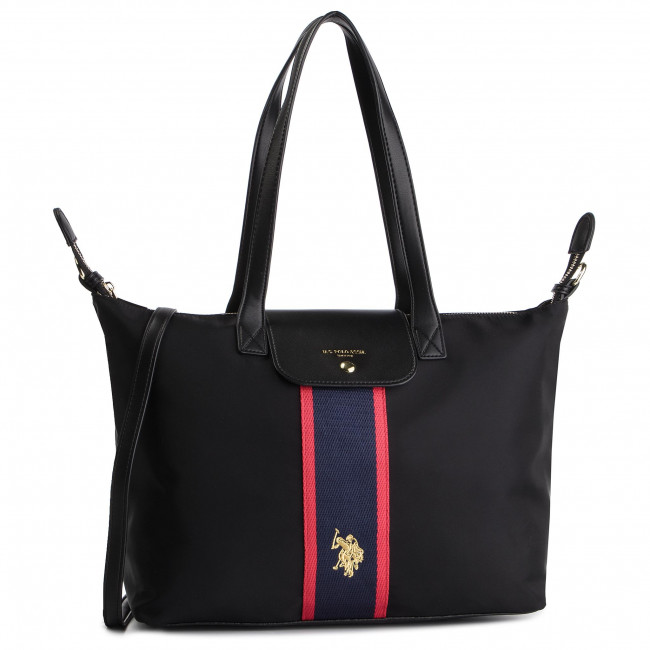 Tasche U.S. POLO ASSN. New Patterson L Shopping BEUNT0451WIP502 Black