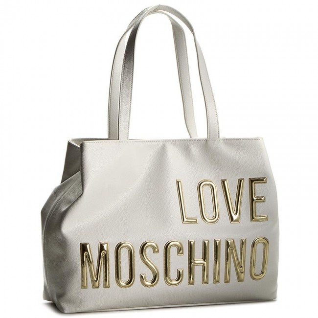 tasche love moschino jc4080pp13ll0100 bianco klassisch handtaschen. Black Bedroom Furniture Sets. Home Design Ideas