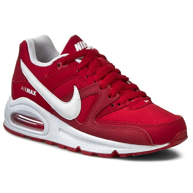 Halbschuhe NIKE Air Max Command (Gs) 407759 616 Gym RedWhite Gym Red White