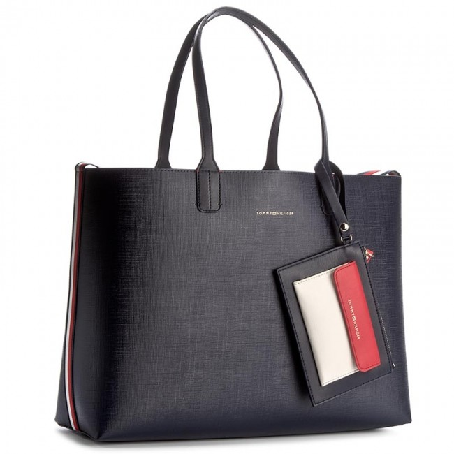 tasche tommy hilfiger love tommy tote aw0aw04526 904. Black Bedroom Furniture Sets. Home Design Ideas