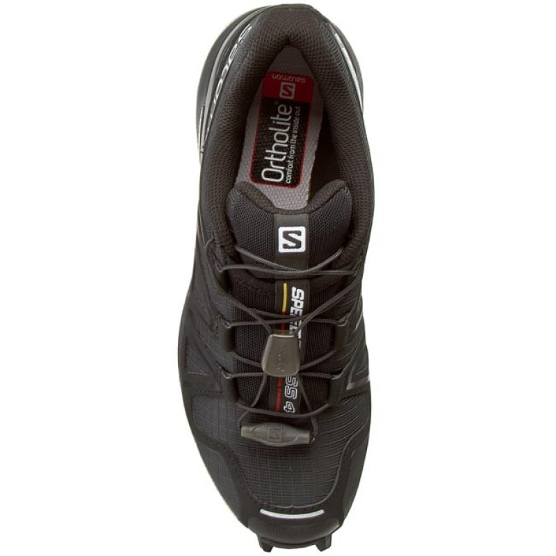 Schuhe SALOMON - Speedcross 4 W 383097 20 V0 Black/Black/Black Metallic EcUnn
