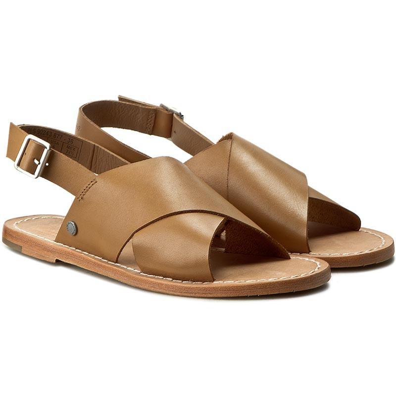 Sandalen PEPE JEANS - Malibu Crossed PLS90243 Nut Brown 877 wFHtPuDJW