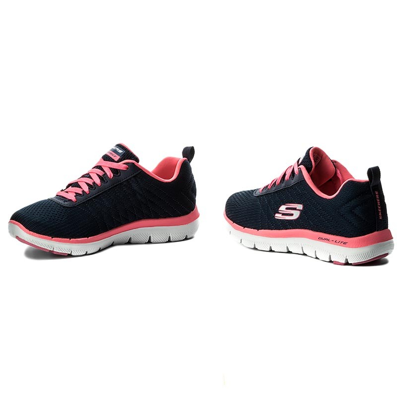 Schuhe SKECHERS - Break Free 12757/NVHP Navy/Hot Pink