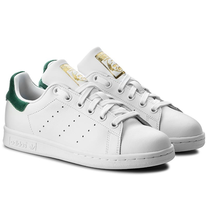 Schuhe adidas - Stan Smith J M20605 Ftwwht/Ftwwht/Green
