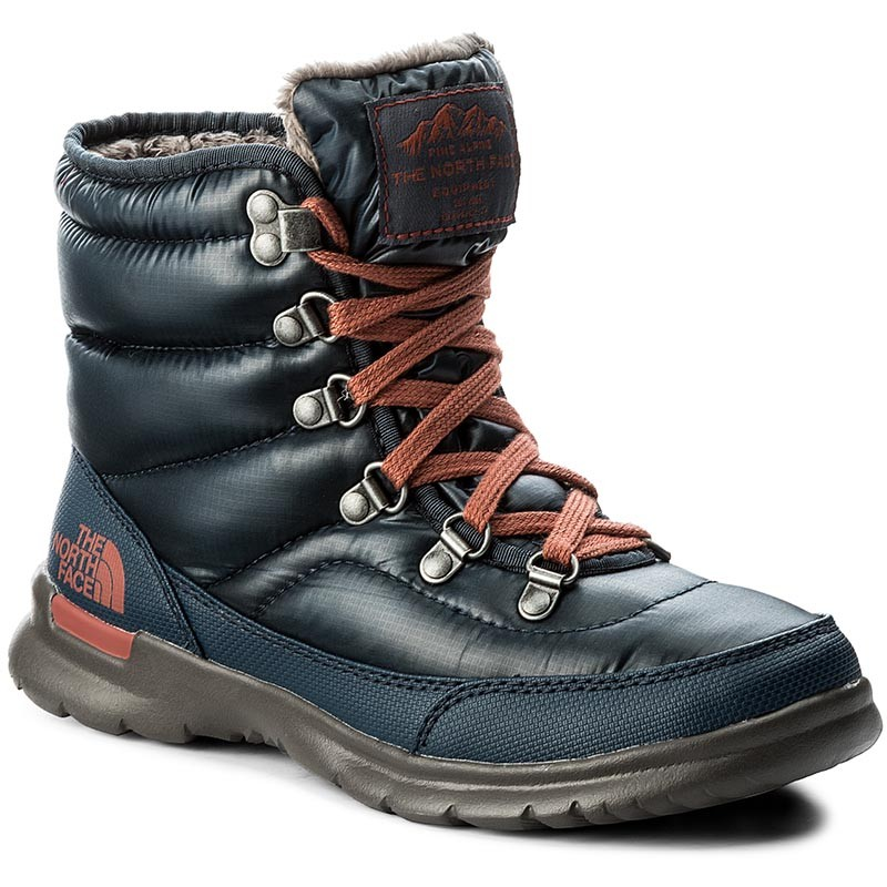 Schneeschuhe THE NORTH FACE - Thermoball Lace II T92T5LYWW Shiny Ink Blue/EtruscanRed zVv7nFGayc