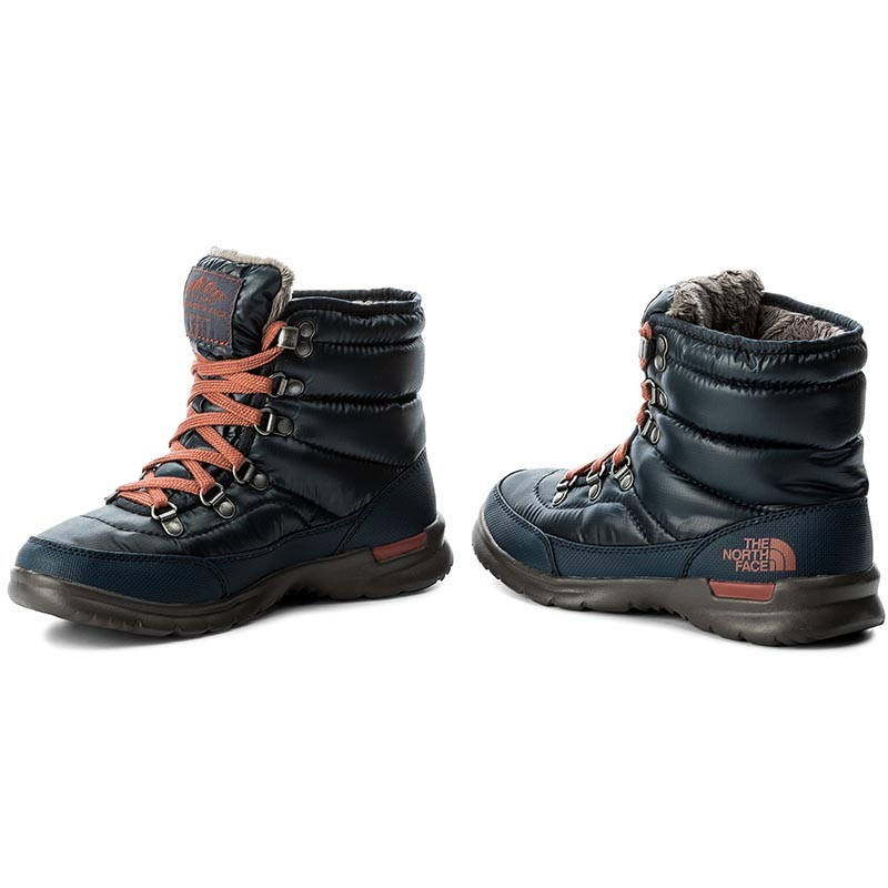 Schneeschuhe THE NORTH FACE - Thermoball Lace II T92T5LYWW Shiny Ink Blue/EtruscanRed u2WJjGbut