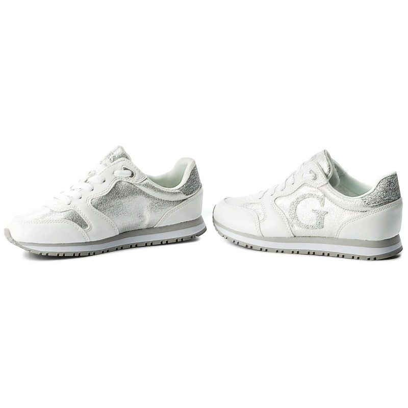 Sneakers Guess - Johnny Fljhn1 Fab12 White