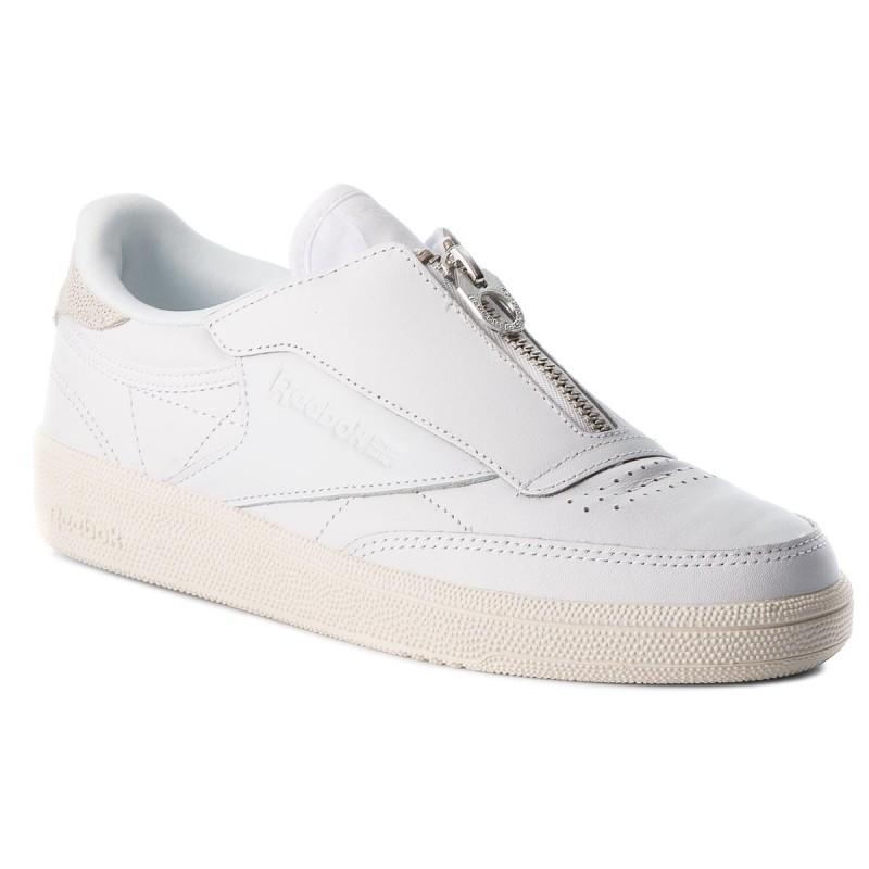 Schuhe Reebok - Club C 858 Zip M CN0139 White/Chalk NP1Uk7LJ
