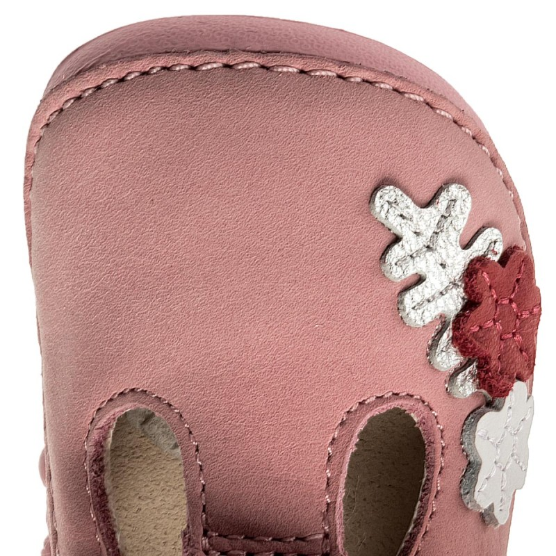 Halbschuhe CLARKS - Tiny Blossom 261336326 Baby Pink Leather MCZHO8Y