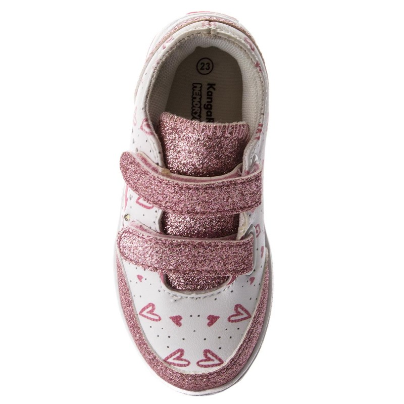 Schuhe KANGAROOS - Baby Flash V 02017 000 6069 Dusty Rose/Heart JUw9SfusD