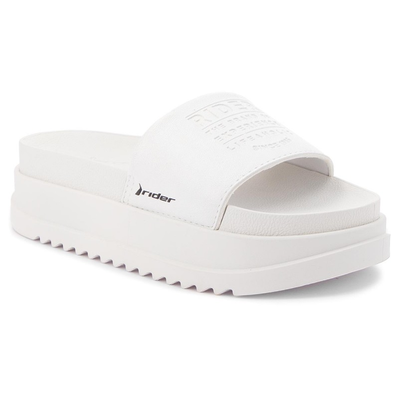 Pantoletten RIDER - Power Up Slide Fem 11297 White 23997