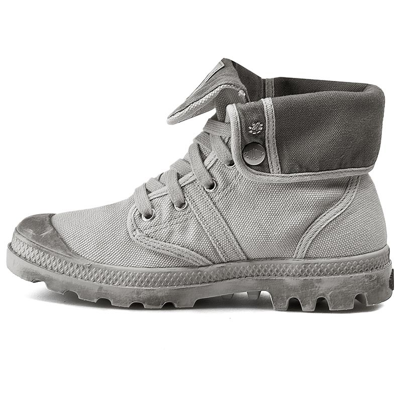 Trapperschuhe PALLADIUM - Pallabrouse Baggy 92478-095-M Vapor/Metal