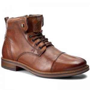 41e8fbc143af Stiefel FLY LONDON - Ullofly P144111001 Dk. Brown - Stiefel ...