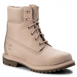 Trapperschuhe TIMBERLAND - 6 In Prem Mono A1K3Z Lt Pnk m0ApMm