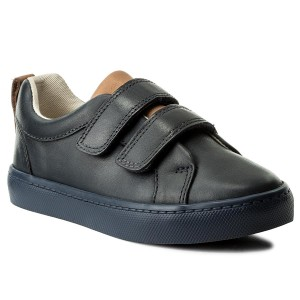 Halbschuhe CLARKS - Everlay Kennon 261208584 Black Leather YR5qysy2S