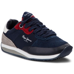 Sneakers PEPE JEANS - Brixton Low PLS30778 White 800 - Sneakers ... 4e42fa9aaa